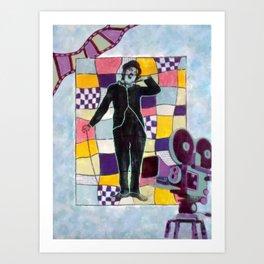 Charlot Art Print