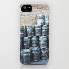 Beer Barrels iPhone Case