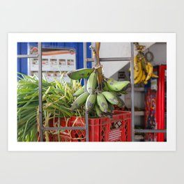 Banano Bocadillo Art Print