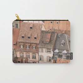 Traditional Tile Roofs Carry-All Pouch
