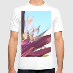 Santa Barbara Plant White MEDIUM Mens Fitted Tee