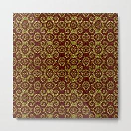 Luxurious Spirales Metal Print