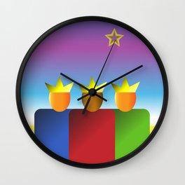 Three Kings Wall Clock