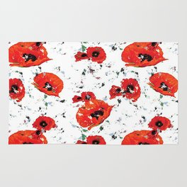 Poppin' Poppies Rug