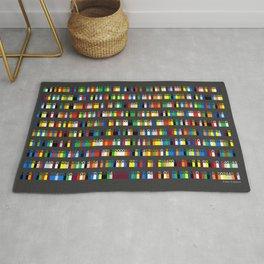 Color by Number: Pi Rug