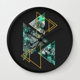 Gloomy Succulents #society6 #decor #buyart Wall Clock
