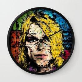 Nevermind Kurt  Wall Clock