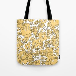 Technology! - Yellow Tote Bag
