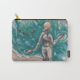 I Want A Hundred Days of Bright Lights Carry-All Pouch