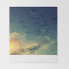Toward A Secret Sky Throw Blanket