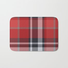 Colors Of Christmas (Plaid 4) Bath Mat