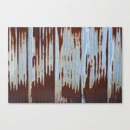 Northport Stripes (23blue) Canvas Print