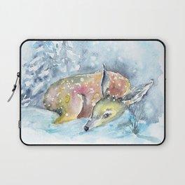 Winter animal #14 Laptop Sleeve