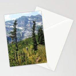 Snowshoe Peak Stationery Cards