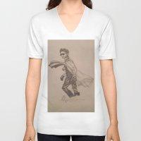 jared leto V-neck T-shirts featuring Jared Leto. by TheArtOfFaithAsylum