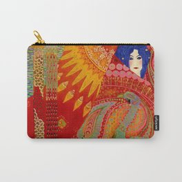 Salome (Floral Garden Landscape) 1918 aladdin tapestry by Vittorio Zecchin Carry-All Pouch