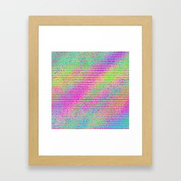 The Incident at The Highlighter Factory Framed Art Print