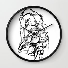 Graphic Pose Wall Clock