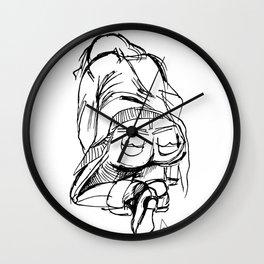 Graphic Pose Wall Clock