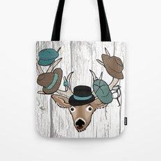 Deer Hat Rack Tote Bag