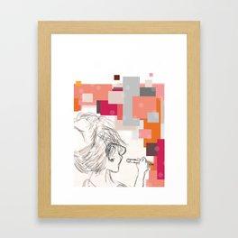 The Art Before the Storm Framed Art Print