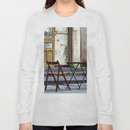 Coffee time in Catania on the Isle of Sicily Long Sleeve T-shirt