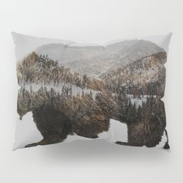 The Kodiak Brown Bear Pillow Sham