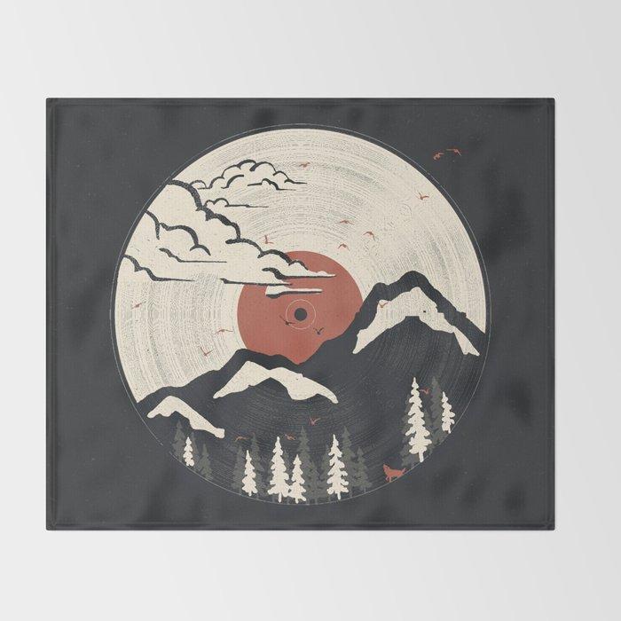 MTN LP... Throw Blanket