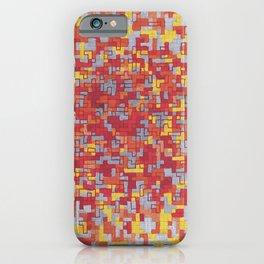 Lava Blocks iPhone Case