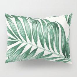 Palm Leaves Pillow Sham