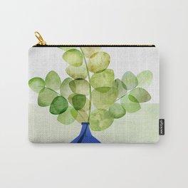 Fresh Eucalyptus Carry-All Pouch