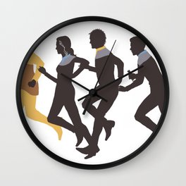 Away Mission: Deep Space 9 Wall Clock