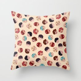 BTS Pattern Throw Pillow