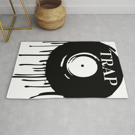 Trap Dripping Record Rug