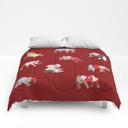 Elephants in College Comforters