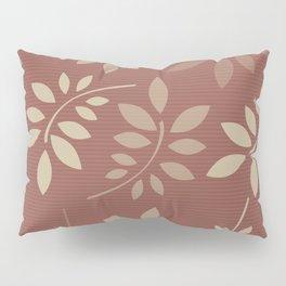 Scattered Leaves Pillow Sham