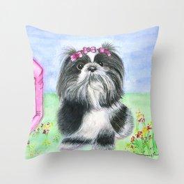 Florzinha Throw Pillow