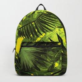 Tropical Leaves Aloha Jungle Garden Backpack