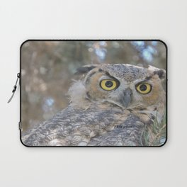 Young Owl at Noon Laptop Sleeve