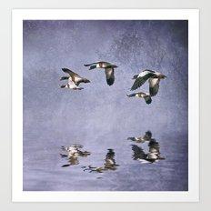 Lilac mist Art Print
