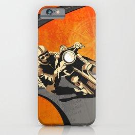 vintage Isle of Man TT motor race poster iPhone Case
