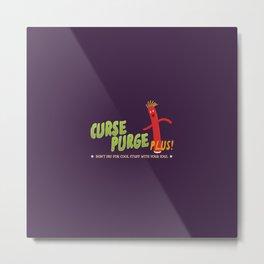 Curse Purge Plus! Metal Print