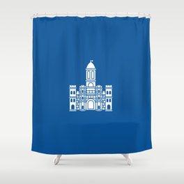 Flag of Split Shower Curtain