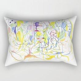 Mentira Rectangular Pillow