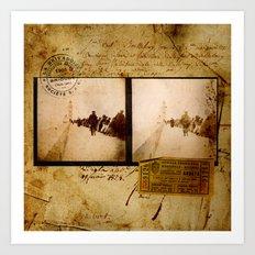 Ephemera 1 Art Print