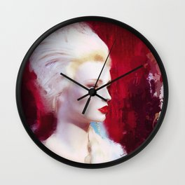 Madame by Lika Ramati Wall Clock