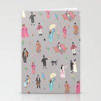 pride and prejudice Stationery Cards featuring Pride and Prejudice by Sara Maese