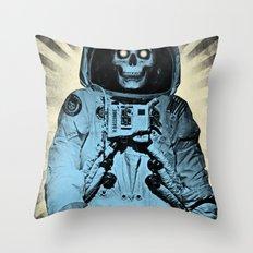 Punk Space Kook Throw Pillow