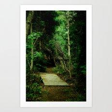 Entrance - color Art Print