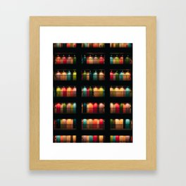 Full of colours - Tokyo apartment Framed Art Print